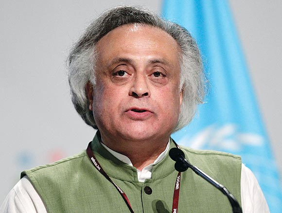 Jairam Ramesh is busy penning his thoughts on women-related issues.