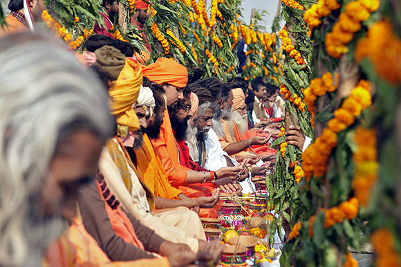 Millions converge as Maha Kumbh begins