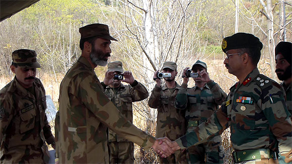 Pak denies role in LoC violence at flag meet