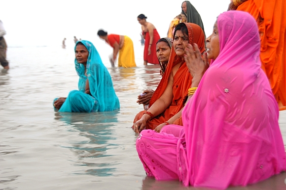 IN PICS: GANGASAGAR MELA, the Kumbh of the east