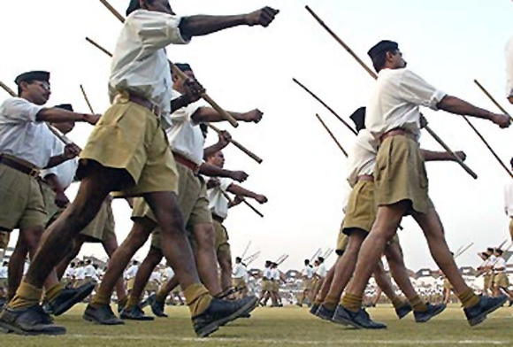 A rally by the RSS