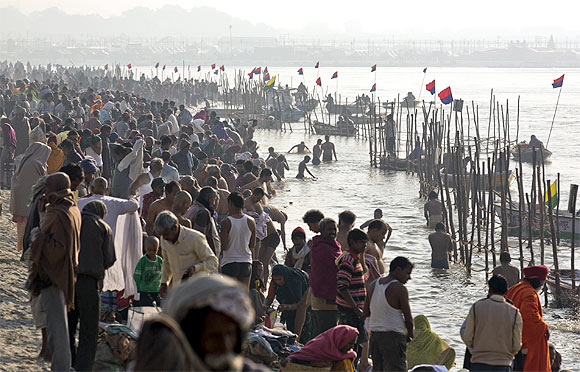 At the Kumbh Mela