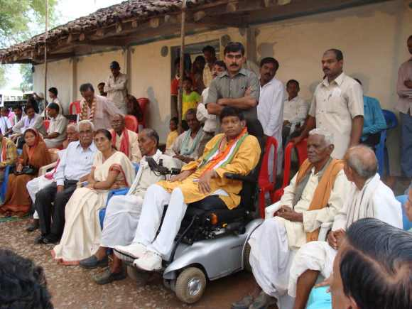 Former Chhattisgarh chief minister Ajit Jogi