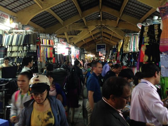 The Ben Tham market in HCMC rivals Mumbai's iconic Crawford market. Here, too, bargaining rules the day