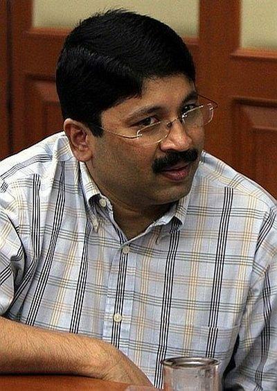 Former Cabinet minister Dayanidhi Maran