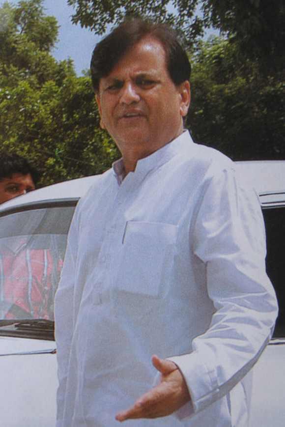 Sonia Gandhi's political advisor Ahmed Patel