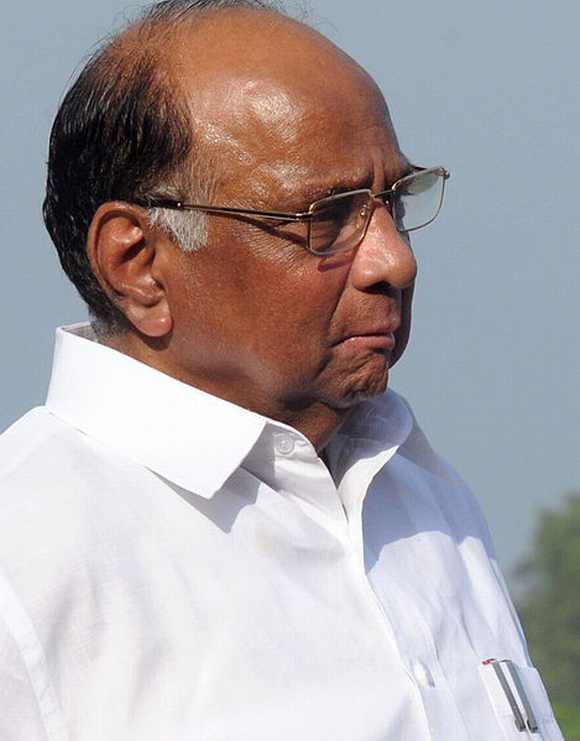 Sharad Pawar, the Nationalist Congress Party leader