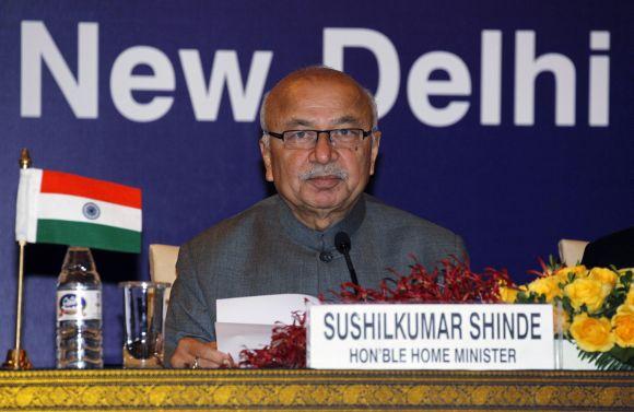 Home Minister Sushilkumar Shinde