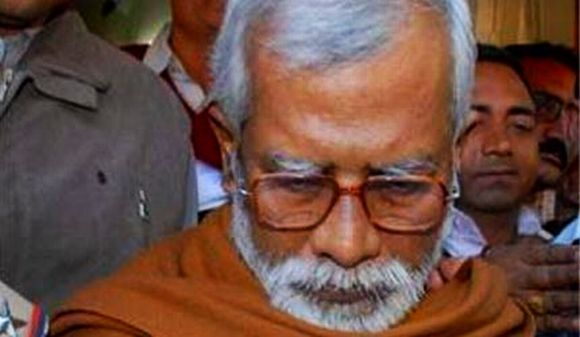 Swami Aseemanand being produced in court