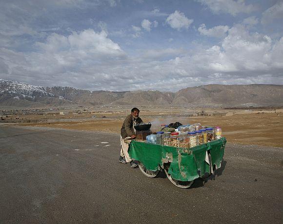 A scene from Quetta, Pakistan.