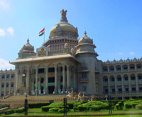 K'taka BJP govt in crisis; resignation drama in assembly