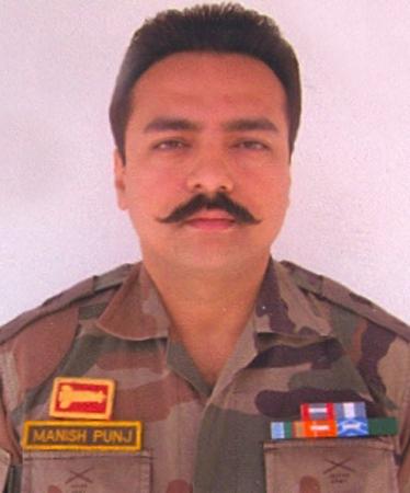 Major Manish Punj