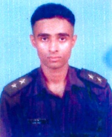 Lieutenant Manish Singh