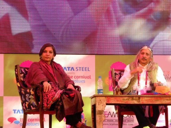 Shabana Azmi and Sanjoy Roy