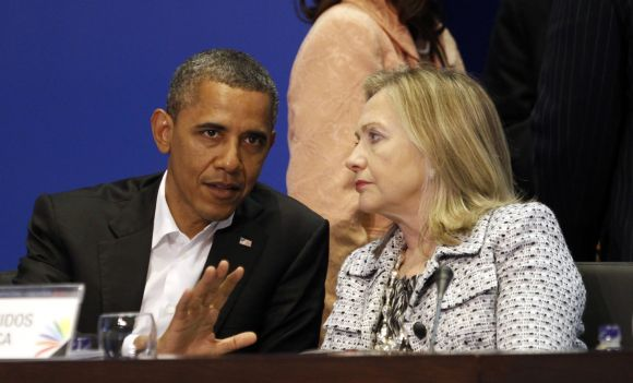 Neither Obama nor I can make predictions, adds Hillary Clinton