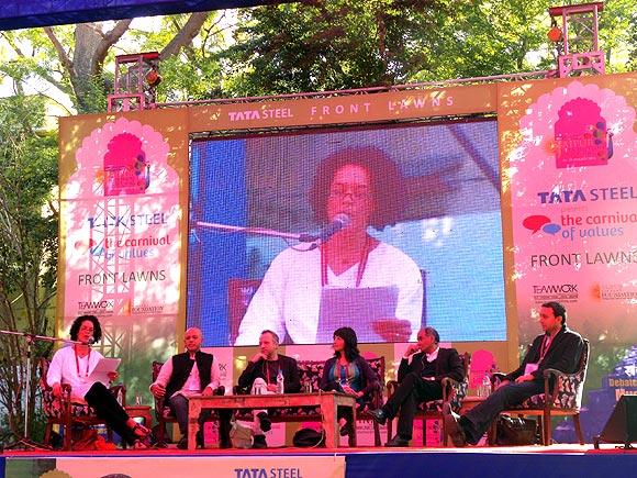 Aminatta Forna, Abraham Verghese, Sadakat Kadri, Laleh Khidiva, Pico Iyer and Akash Kapur