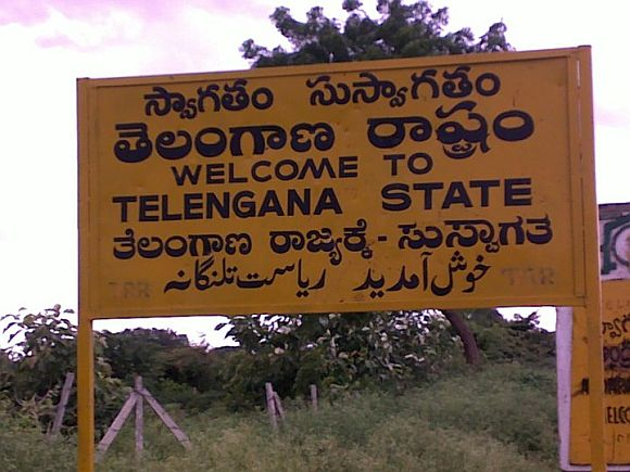 'The decision to grant Telangana has already been made; it is just a matter of timing'