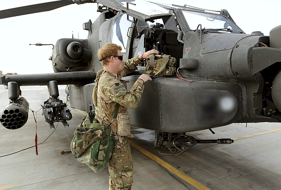 PICS: The Royal prince's deployment in Afghanistan