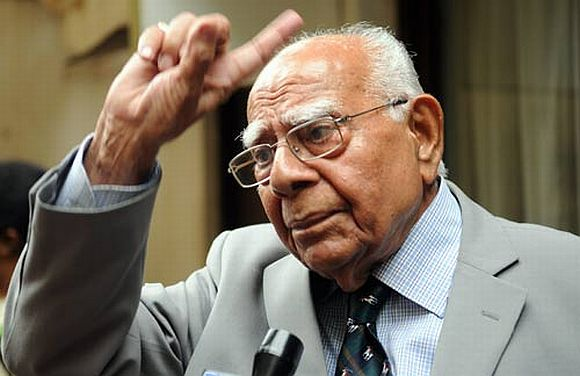 Modi fit to be PM, he is 100 per cent secular: Jethmalani