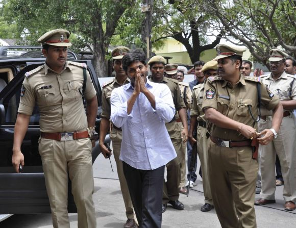 Looking at Jagan's case records, it appears to be a bit difficult for him to get bail immediately
