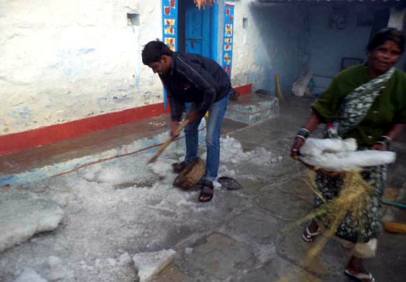 BIZZARE: When AP villages got covered in foot-thick ice!