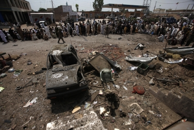 India News - Latest World & Political News - Current News Headlines in India - 20 killed in Taliban-triggered blast at Pak vegetable market