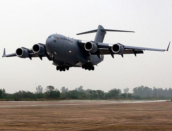 IAF's Globemaster-III makes maiden trip to Andaman