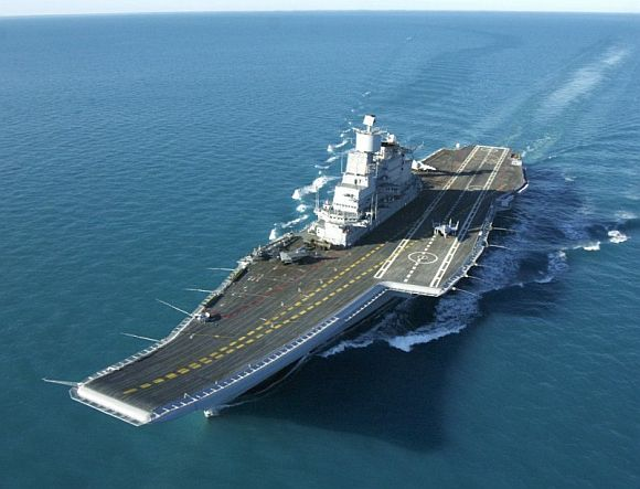 The Marshal Gorshkov, which will be renamed the INS Vikramaditya.