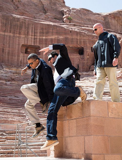 Barack Obama, the COOLEST president