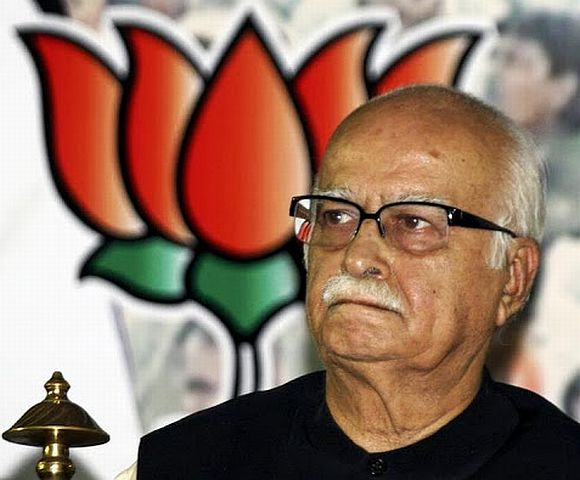 'Advaniji has never talked about dictatorship in the party'