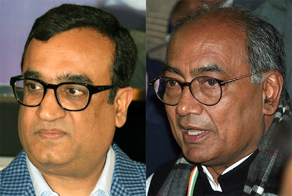 Will Ajay Maken be able to take on Digvijaya Singh?