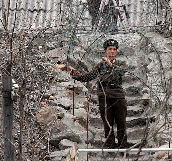 Chinese troops vandalise Indian posts in Ladakh