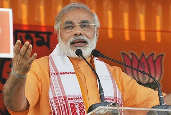 Gujarat Chief Minister Narendra Modi will address a rally in Hyderabad on July 28