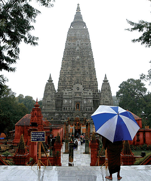 Ten blasts rocked the Mahabodhi temple compound in Bodh Gaya, Bihar on Sunday