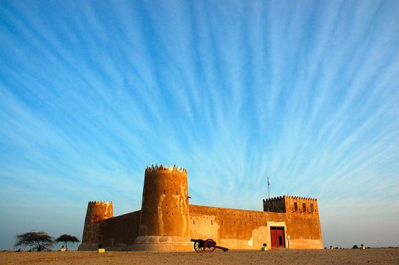 The historical Zubarah fort