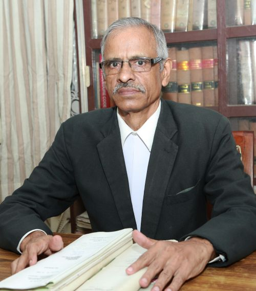 Senior advocate T D Vasu