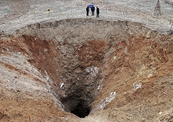 Ever seen these giant sinkholes?