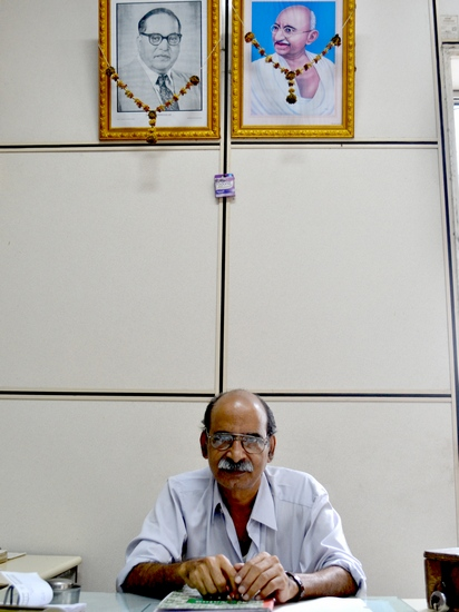 CN Deshmukh, one of the oldest employees at Mumbai's CTO heads the Instrument Room