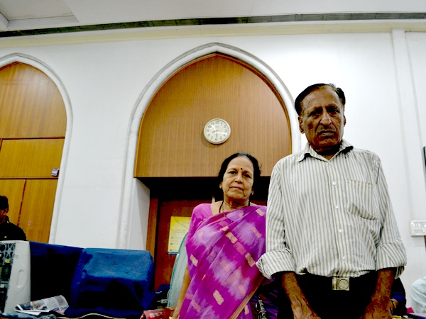 Mahendra Tarwala with his wife Jayashree prepare for a future of uncertainty.