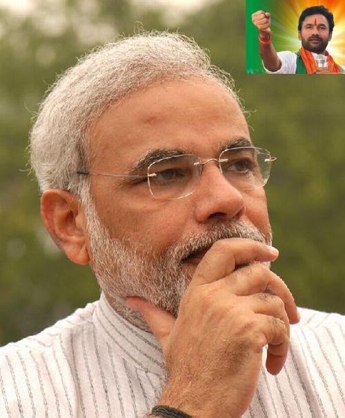 (Inset) Andhra Pradesh BJP chief Kishan Reddy