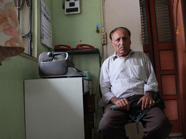 Mahendra Tarwala had a one-of-a-kind job. He sent telegrams for a living.