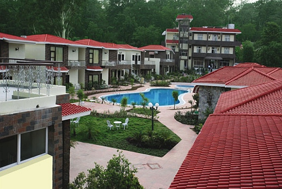 A resort at the Corbett