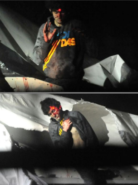 Video grab of the photos of Dzhokhar Tsarnaev released by Massachusetts state police photographer Sergeant Sean Murphy to the Bost