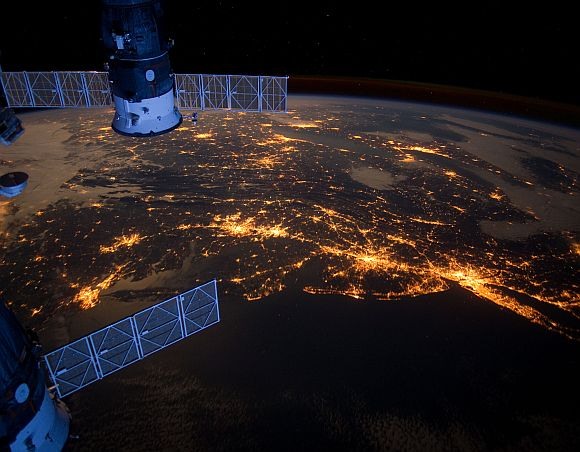 Stunning views of the world from SPACE