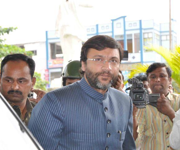 MIM leader Akbaruddin Owaisi