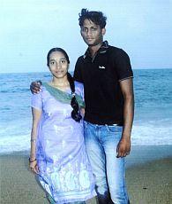 Ilavarasan with Divya