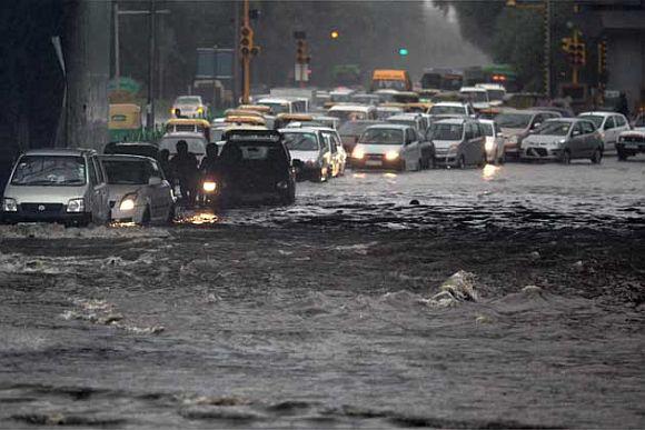 Delhi is so NOT monsoon ready
