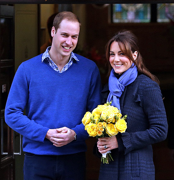 Prince William with his wife Catherine