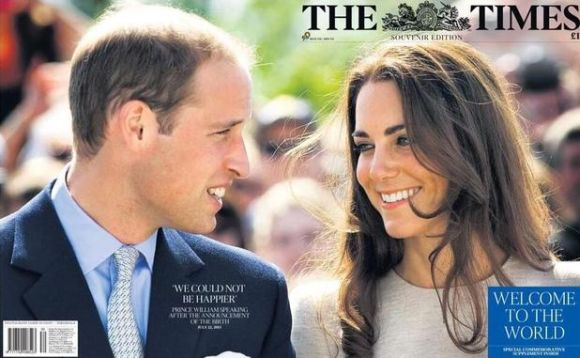 PHOTOS: How the British press heralded the royal birth