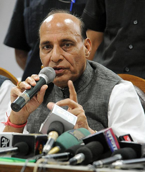 BJP chief Rajnath Singh